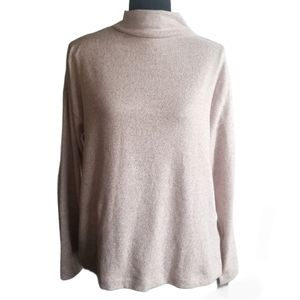 UNIQLO Sweater Shirt Pink Long Sleeve Pull Over